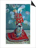 Madame Monet in a Kimono (La Japonaise)  1876