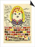 1960s UK Smarties Magazine Advertisement
