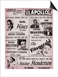 Apollo Theatre: Earl Hines  Louis Armstrong  Ella Fitzgerald  Fletcher Henderson and More