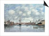 Dunkerque  Le Bassin des Hollandais  1889