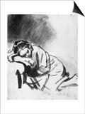 Sleeping Girl  Drawing  British Museum  London