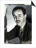 Portrait of the Animated Cartoon Artist and Producer Walt Disney