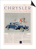 Chrysler  Magazine Advertisement  USA  1932