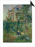 A Garden Nook at Bellevue  1880
