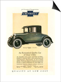 Chevrolet  Magazine Advertisement  USA  1925
