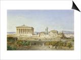 Die Akropolis Von Athen Zur Zeit des Perikles 444 VChr  1851