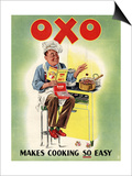 OXO  Chefs Cooking  UK  1950