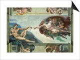 The Sistine Chapel: Creation of Adam  1510