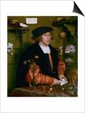 Portrait of the Merchant George Gisze  1532