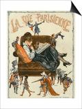 La Vie Parisienne  Magazine Cover  France  1920
