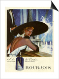 1950s France Bourjois Magazine Advertisement