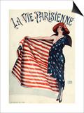 La Vie Parisienne  Georges Leonnec  1918  France