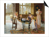 The Time of Roses  c1901