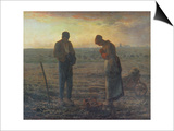 Evening Prayer (L'Angelus)  1857/59
