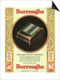 Equipment Burroughs  Adding Machines  Accountants  USA  1920