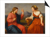 Christ and the Samaritan Woman at the Well  1796