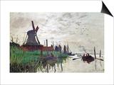 Windmill at Zaandam (Netherlands)  1871