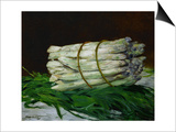 A Bunch of Asparagus  1880  Formerly in the Collection of Painter Max Liebermann