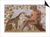 Fresque : Bacchus