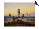 Die Lebensstufen (Strandszene in Wiek) (The Stages of Life)  c1843