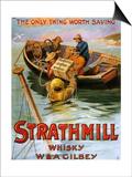 1900s UK Strathmill Poster
