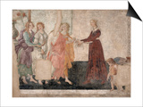 Vénus et les Grâces offrant des présents à une jeune fille