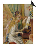 Two Girls at the Piano  c1892