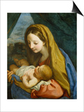 Madonna with Child  about 1660