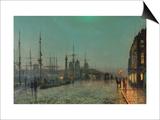 The Hull-Docks by Night