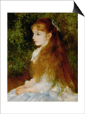 Little Irene  Portrait of the 8 Year-Old Daughter of the Banker Cahen D'Anvers  1880