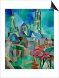 Les Tours de Laon (The Towers of Laon)  1912