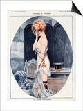 La Vie Parisienne  Maurice Milliere  1918  France