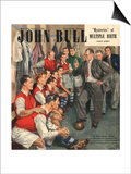 John Bull  Arsenal Football Team Changing Rooms Magazine  UK  1947