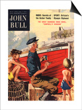 John Bull  Nautical Fishing Boats Magazine  UK  1950