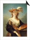 Portrait de Marie-Louise-Elisabeth Vigée-Le Brun (1755-1842)  peintre