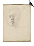 Portrait de René de Gas  frère de l'artiste