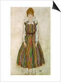Edith Schiele  1915