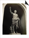 Emperor Augustus in Military Dress  Marble Figure from the Prima Porta