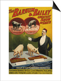 Barnum and Bailey  Poster  1900