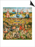 The Garden of Delights  Triptych  Center Panel