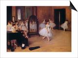 Dancing Class (Classe De Danse)  about 1871