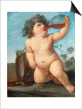 Bacchus As a Boy