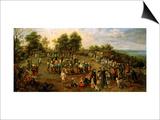 Folk Dance Before the Archdukes