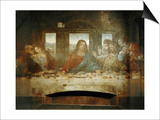 Last Supper  Detail of Christ with Apostles  1498