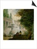 Park with Fountain  1762-1765