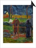 Bonjour  Monsieur Gauguin  Self-Portrait  Hommage a Courbet