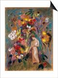 Woman in Flowers  1904