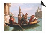 Musical Interlude on the Gondola