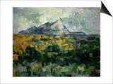 Mount Sainte-Victoire  1906
