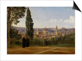 Florence  Seen from the Boboli-Gardens